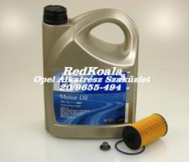 Opel olajcsere szett